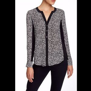 Nanette Lepore Rule Breaker Silk Blouse